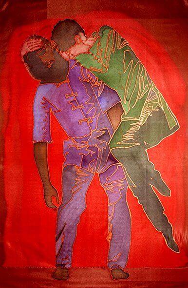 ציור רוקדים